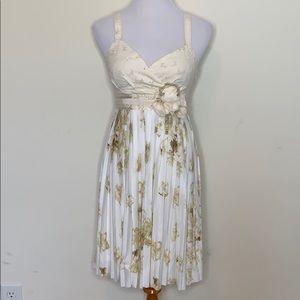 Deletta Tea and Sweet Floral Dress. (D53)
